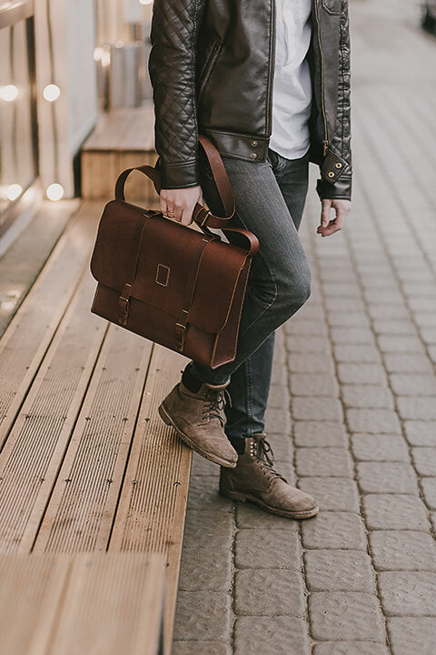 Top 10 Best Leather Laptop Bags for Men 2021