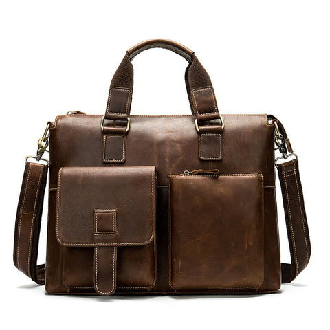 Large Capacity 14 inch Laptop Briefcase Bag