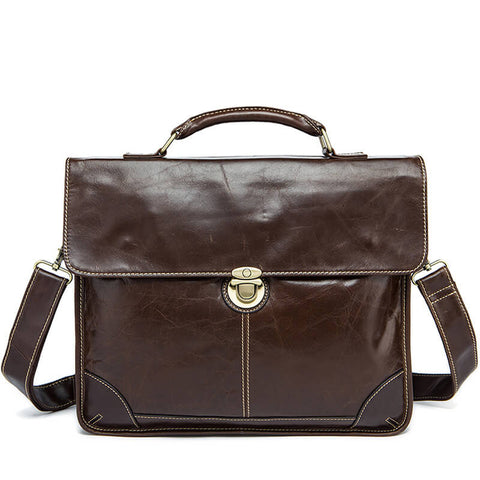 Retro Business 13 inch Laptop Briefcase Bag