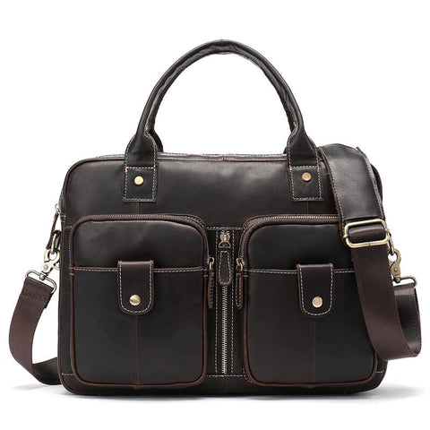 Leather 14 inch Laptop Bag