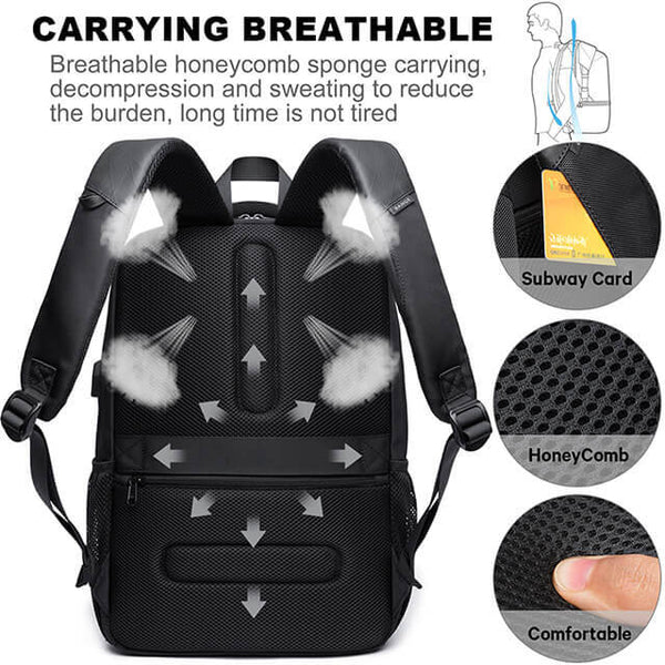 Large Capacity 15.6 inch Laptop Backpack