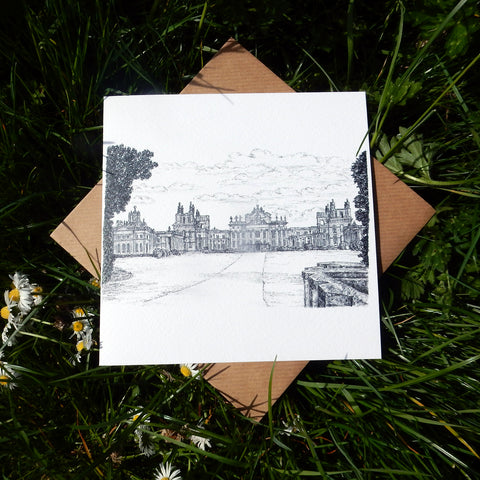 'Blenheim Palace' Greeting Card