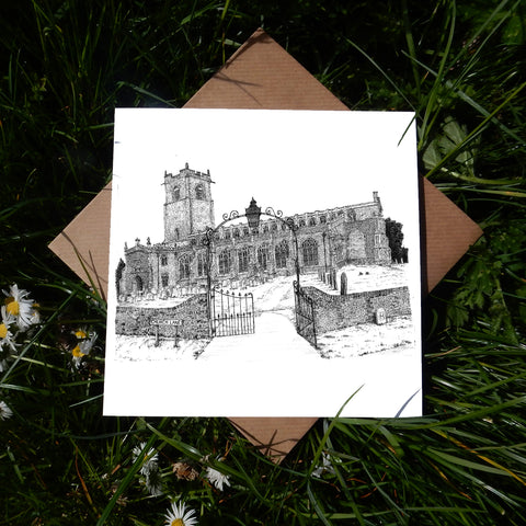 Holy Trinity Church, Blythburgh, Suffolk Greeting Card