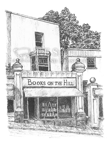 Books on the Hill, Clevedon, Somerset