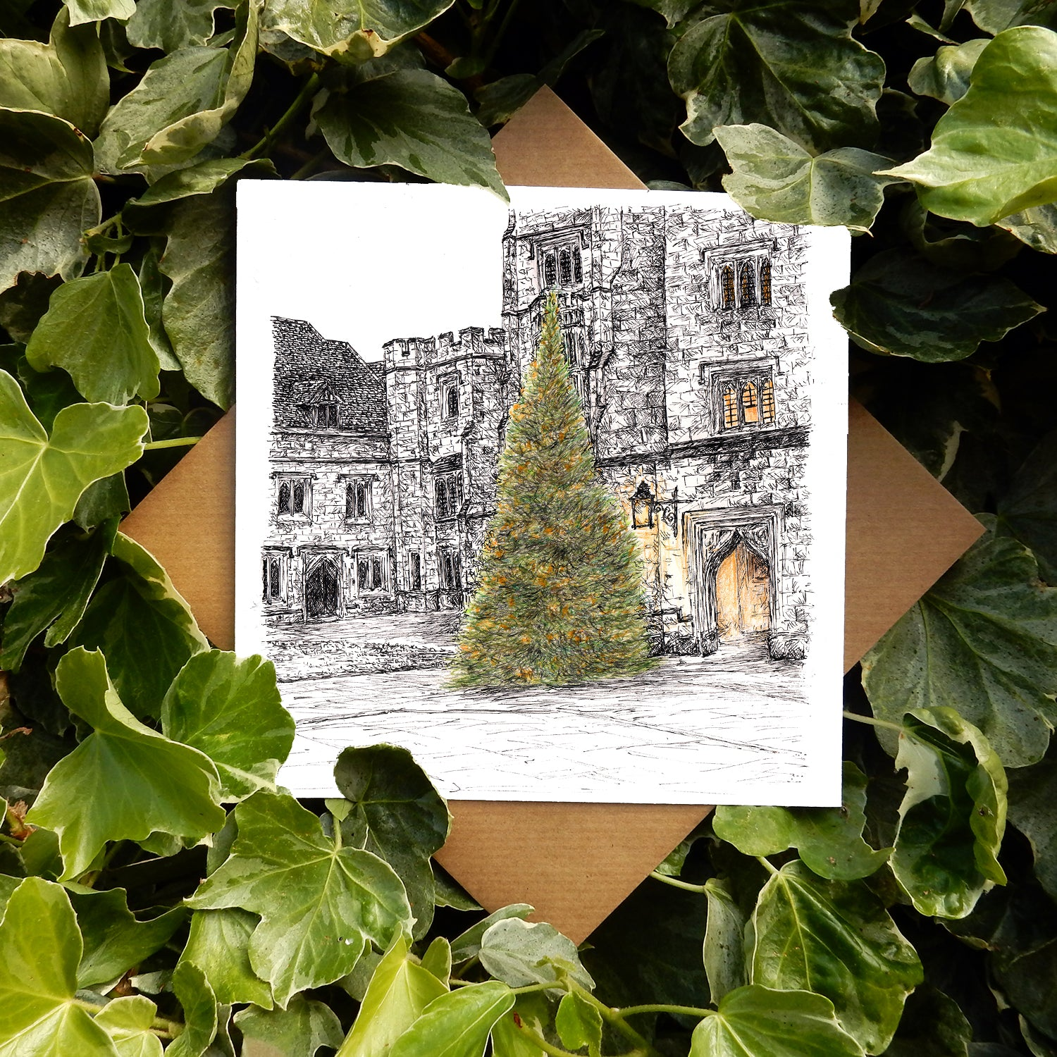 PRE-ORDER: 2020 Christmas Card - Magdalen College, Oxford