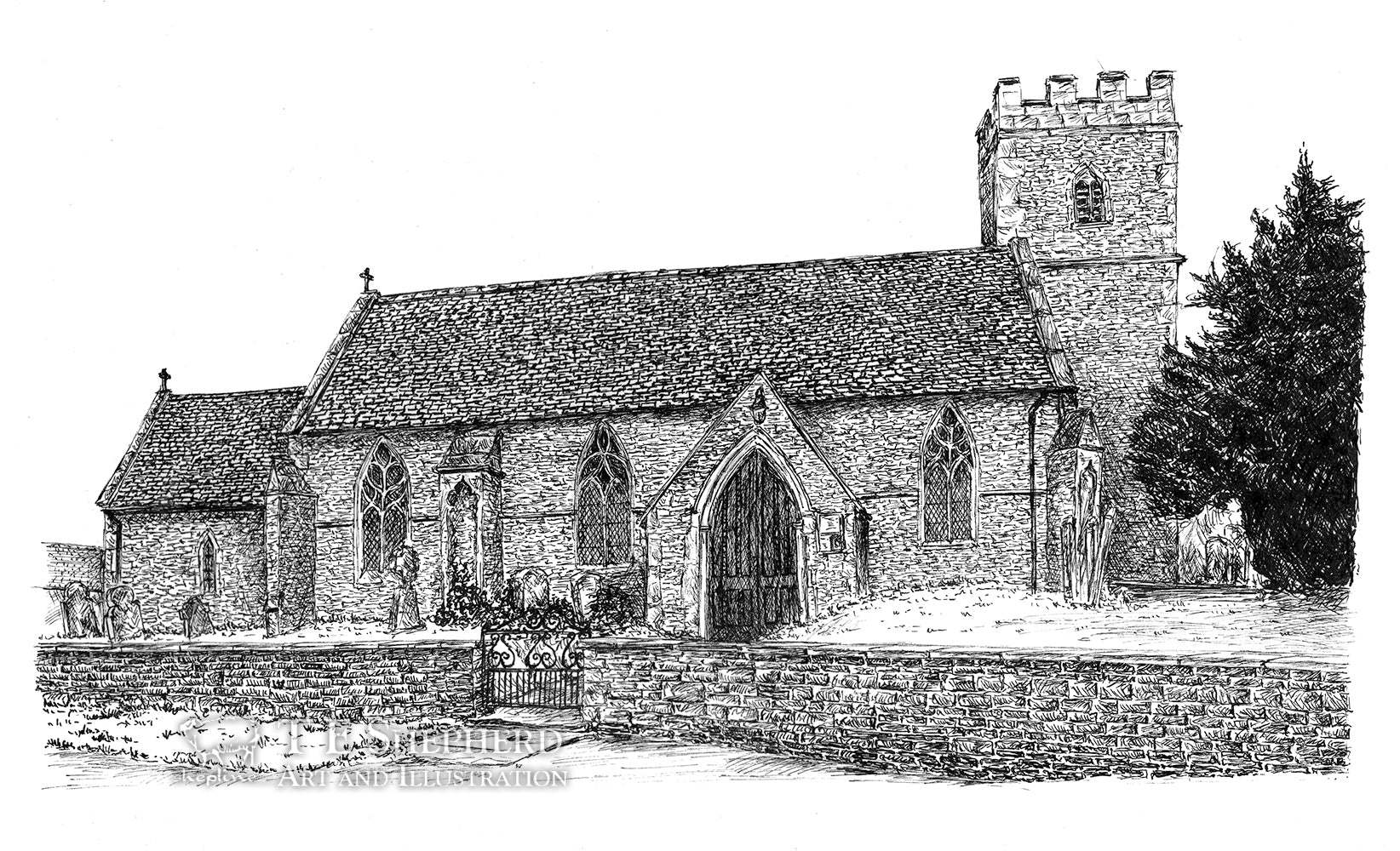 Ducklington Church, Oxfordshire