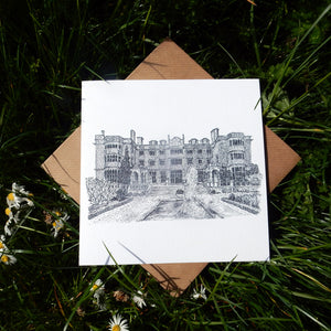 'Eynsham Hall' Greeting Card