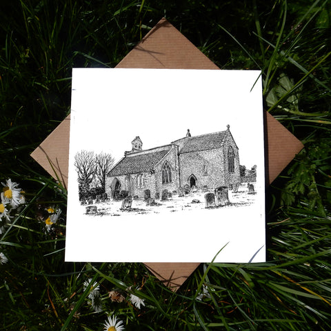 St Mary's Church, Hampton Poyle, Oxfordshire Greeting Card