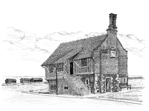 Moot Hall, Aldeburgh, Suffolk