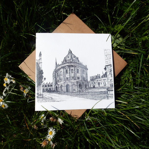 'Radcliffe Camera' Greeting Card
