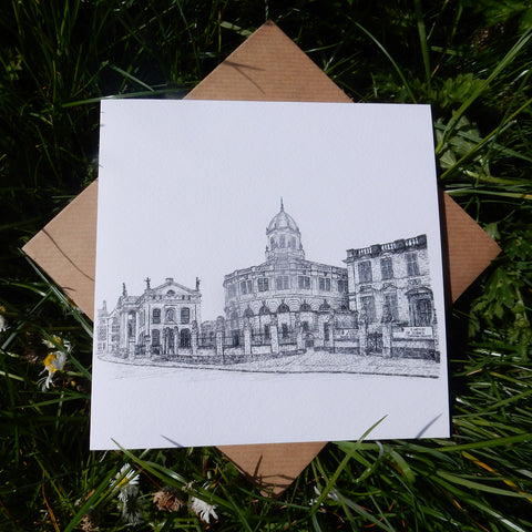 'Sheldonian Theatre' Greeting Card