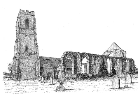 Saint Andrew's Church, Covehithe, Suffolk *Original*