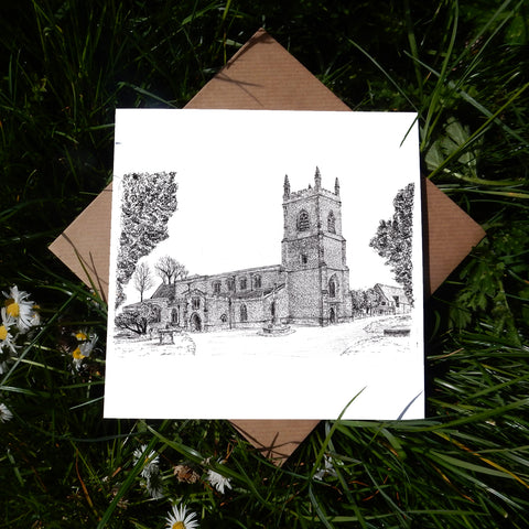St Edburg's Church, Bicester Greeting Card