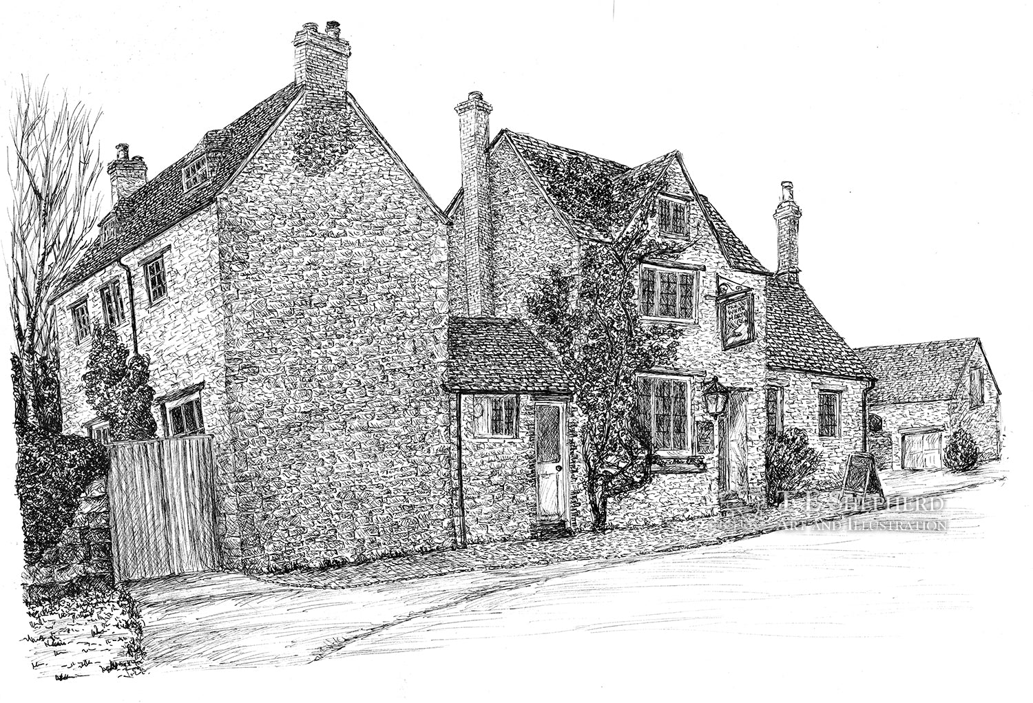 The White Hart, Wytham, Oxfordshiren *Original*