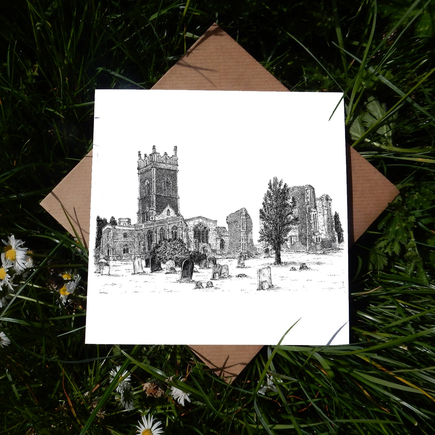 St Andrew's Church, Walberswick, Suffolk Greeting Card