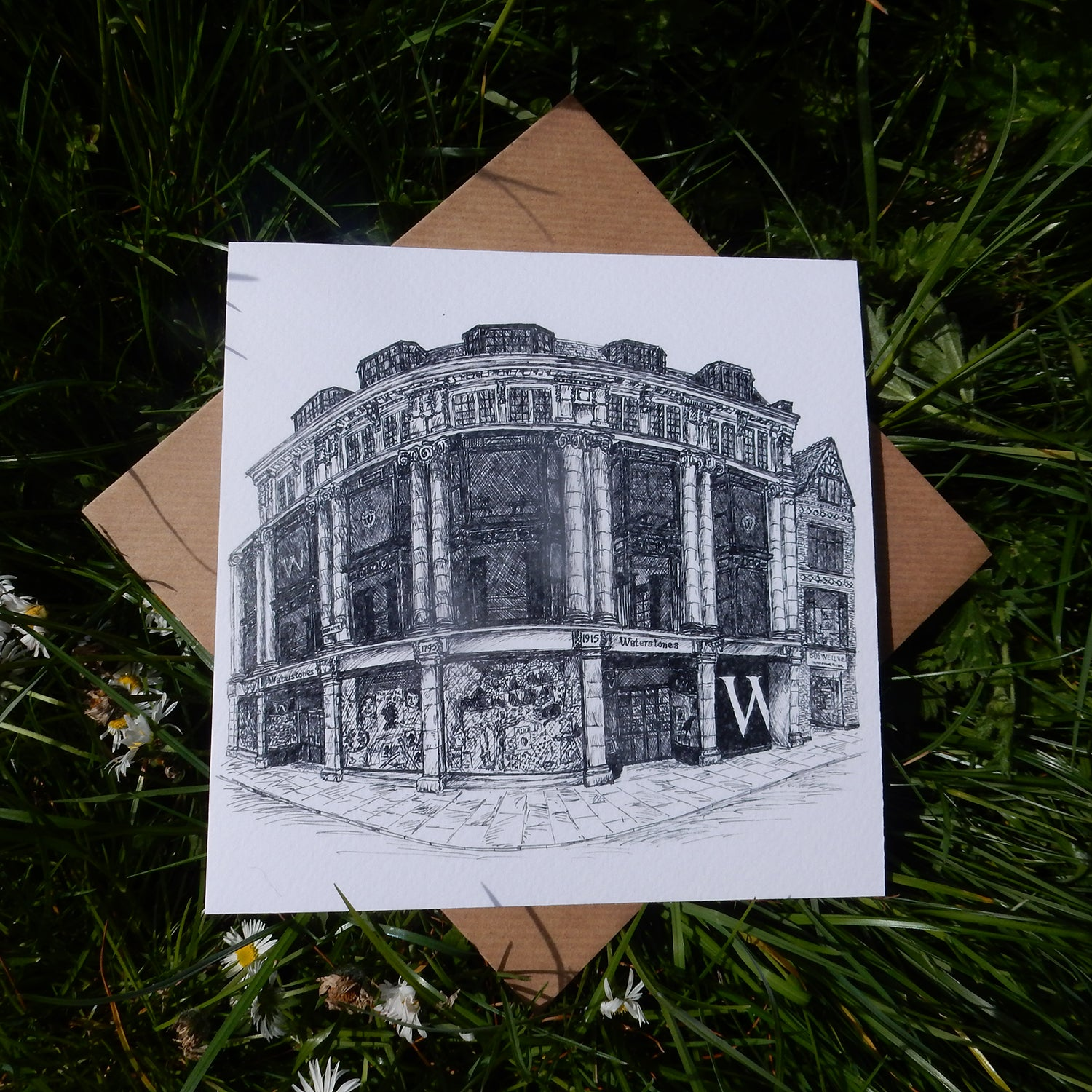 'Waterstones, Oxford' Greeting Card