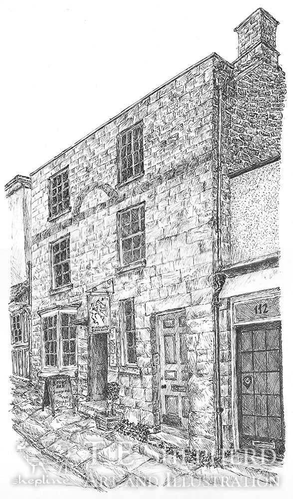The Madhatter Bookshop, Burford *Original*