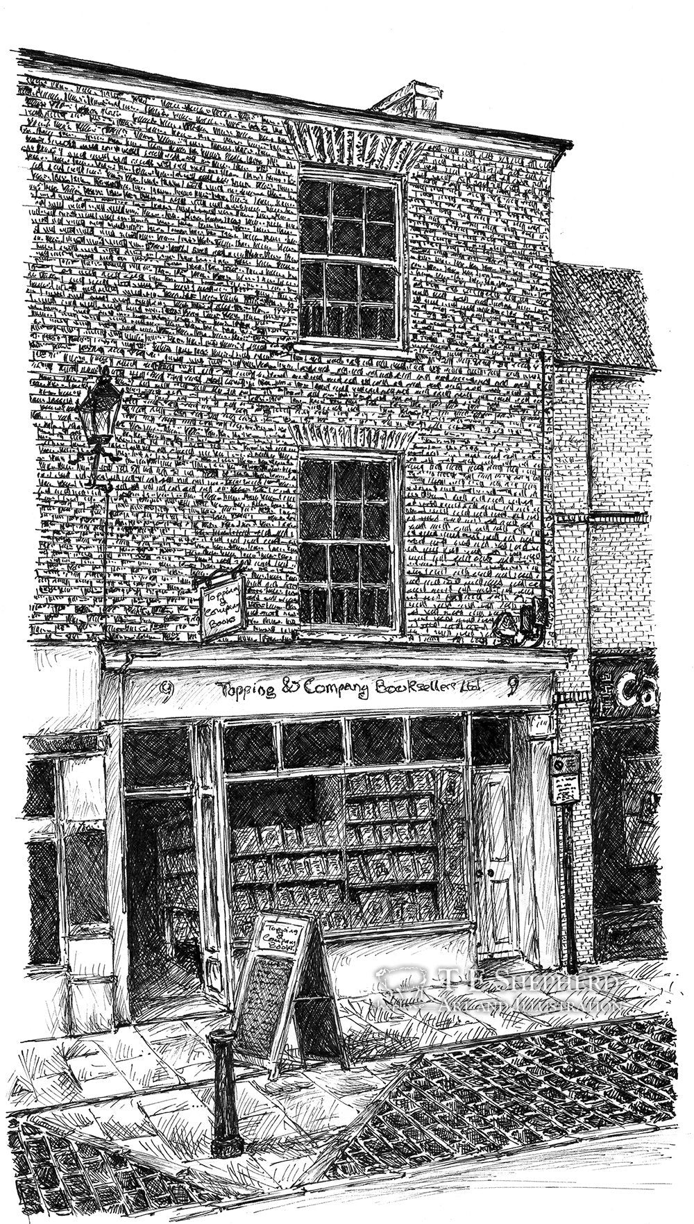 Topping and Company Booksellers, Ely *Original*