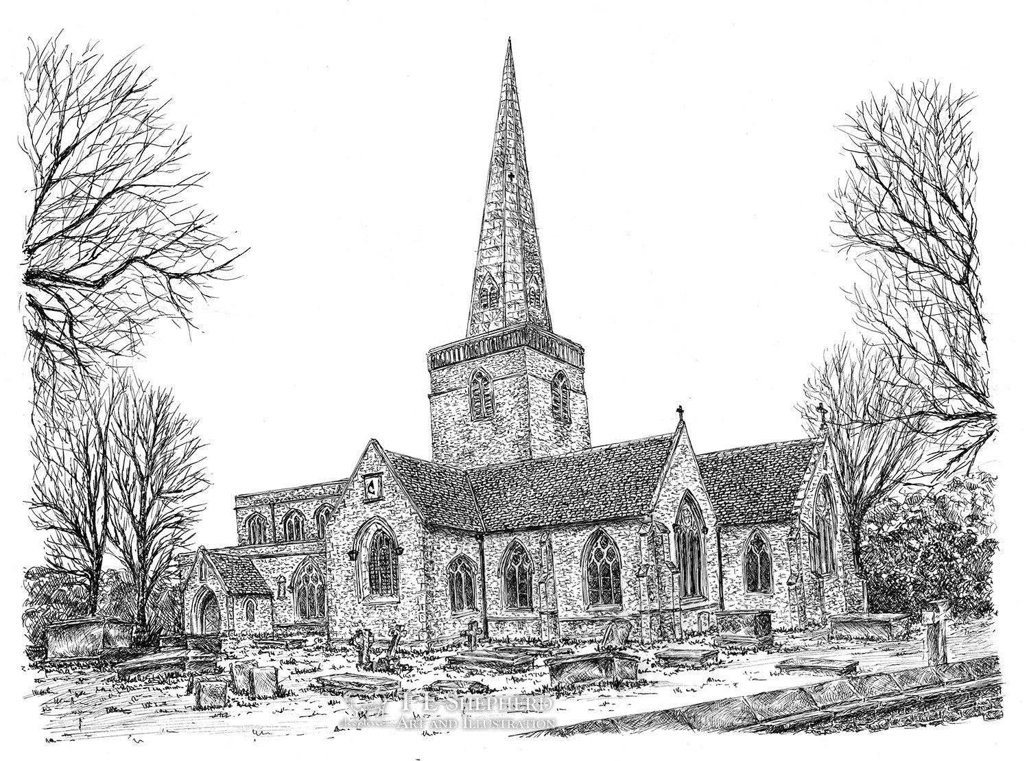St Mary's C of E Church, Kidlington, Oxfordshire *Original*