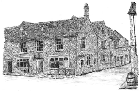 Post Office, Woodstock, Oxfordshire