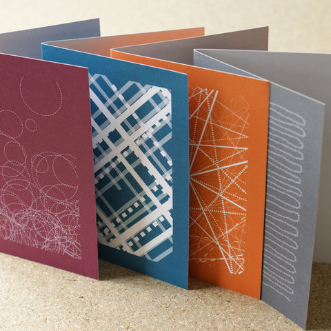 Pantone Greetings Cards (Set of 4)