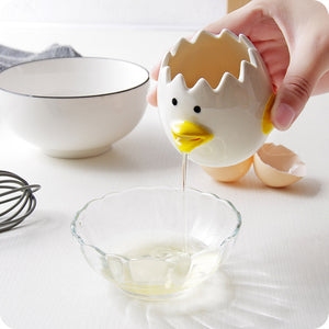 Ceramic Chick Yolk Separator | Kitchen Supplies | Myleyna