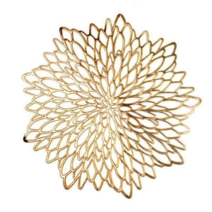 Gold Flower Placemat | Kitchen Supplies | Myleyna