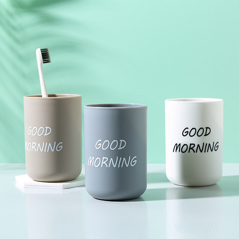 Good Morning Toothbrush Cup | Kitchen Supplies | Myleyna