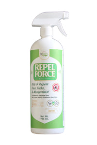 Repel Force by Flybusters for Horses & Pets (1 Liter)