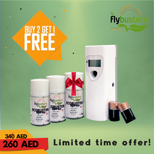 Limited Time Offer, Flybusters Ecobuster Full Set bundle - Get it Now! - FlybustersArabia