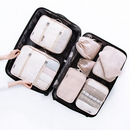 8PCS TRAVEL WATERPROOF PACKING CUBES
