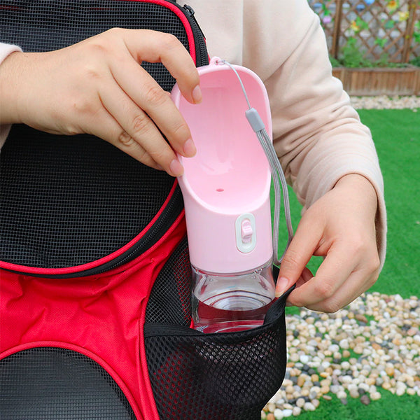2 In 1 Travel Pet Water Bottle