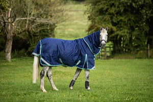 400g Ultimate Heavy Weight Turnout Rug - Navy - Swish Equestrian
