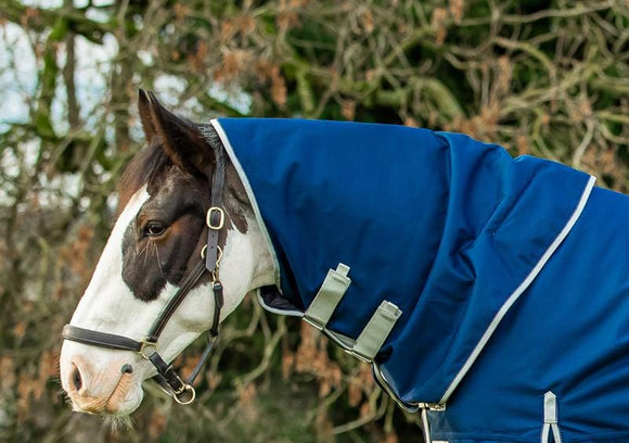 50g Navy Turnout Neck Cover - Swish Equestrian
