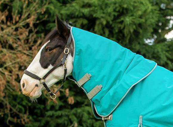 100g Peppermint Turnout Rug Neck Cover - Swish Equestrian