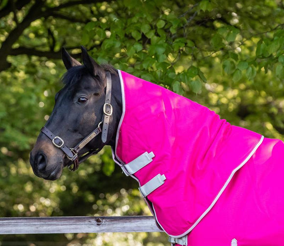 100g Pink Turnout Rug Neck Cover - Swish Equestrian
