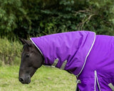 Heavyweight 360g Detachable Neck Turnout Rug - Purple - Swish Equestrian