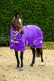 50g Stable Rug With Detachable Neck - Purple - Swish Equestrian