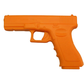 Trainingswaffe Gummi Trainingspistole Glock orange
