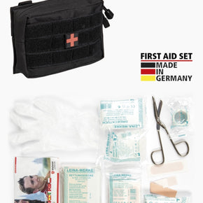 FIRST AID SET SCHWARZ