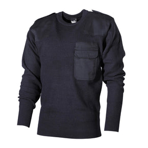 Bundeswehr sweater dark blue