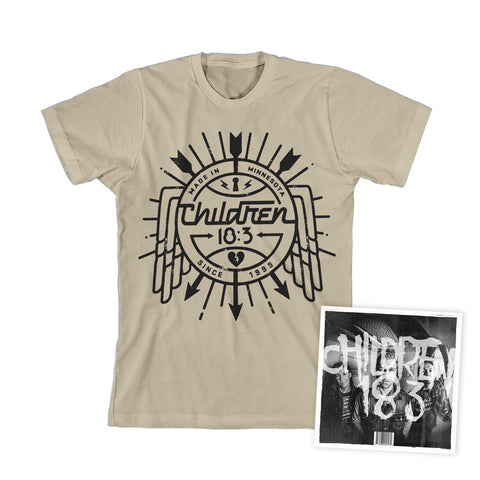 Children 18:3 'Come In' CD + MP3 Download + T-Shirt - PREORDER!