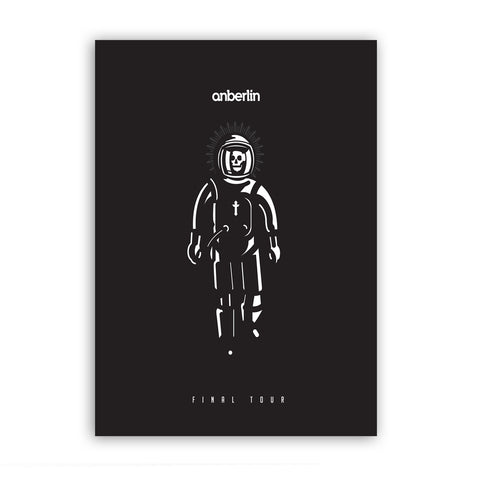 "Anberlin 'Final Tour' Limited Print 11"" x 17"""