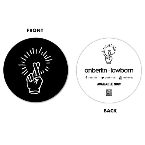 Anberlin 'Lowborn' Sticker