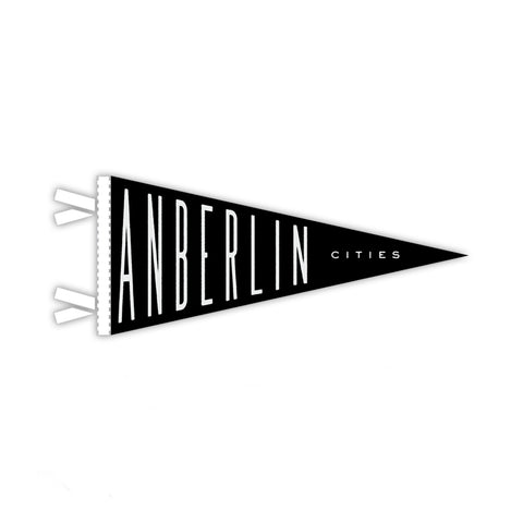 Anberlin 'Cities' Mini Pennant