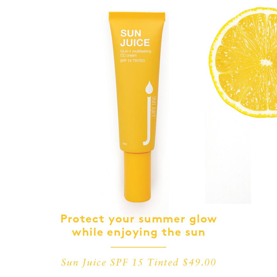 Sun Juice - Flourish Skin and Beauty