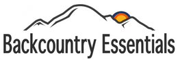 The Backcountry Essentials logo. We are an outdoor specialty shop located in Bellingham, Washington.