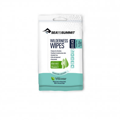 Trek and Travel Wilderness Wipes - S - 12 per pack
