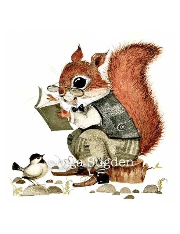 Reader Squirrel
