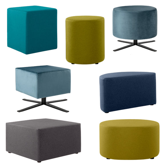 6S Modular Series - Ottomans & Backless Pieces